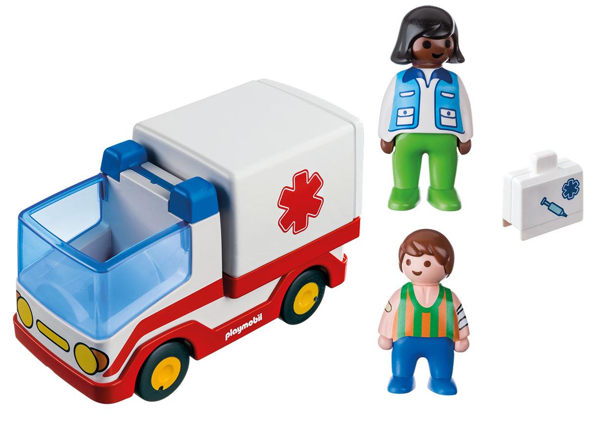 Playmobil Игровой набор Скорая помощь playmobil® в поисках приключений семья рысей с кинооператором playmobil