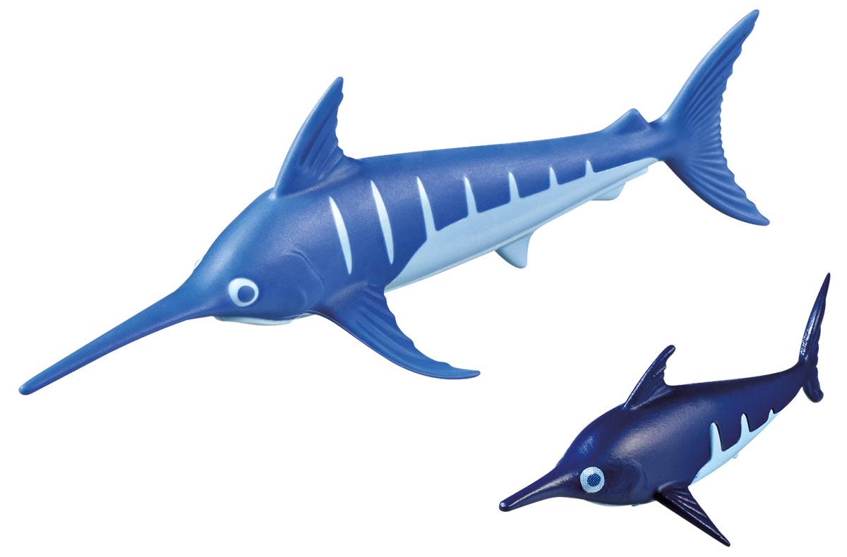 Playmobil Игровой набор Аквариум Рыба-меч с детенышем playmobil® в поисках приключений семья рысей с кинооператором playmobil