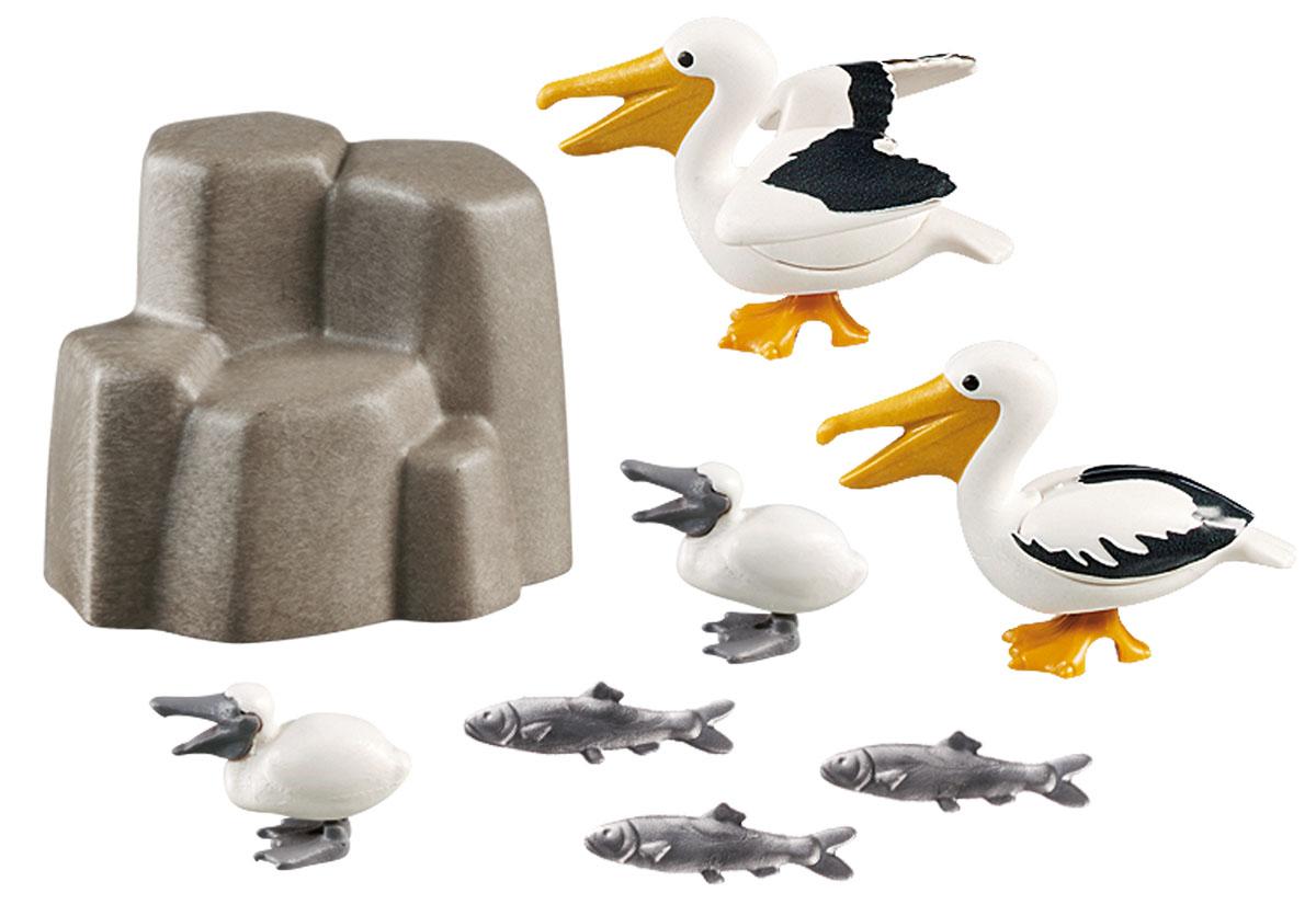 Playmobil Игровой набор Аквариум Семья пеликанов playmobil® зоопарк семья зебр playmobil