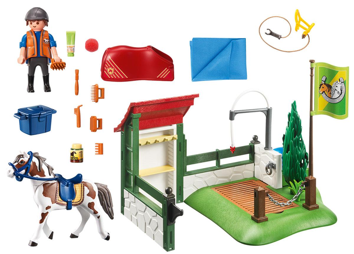 Playmobil Игровой набор Грумерская станция для лошадей