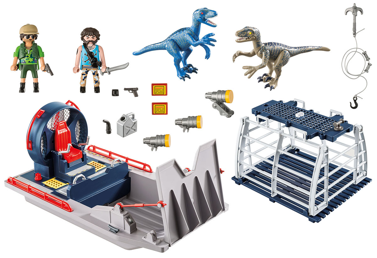 Playmobil Игровой набор Динозавры Вражеское воздушное судно с ящером playmobil спасатели с носилками