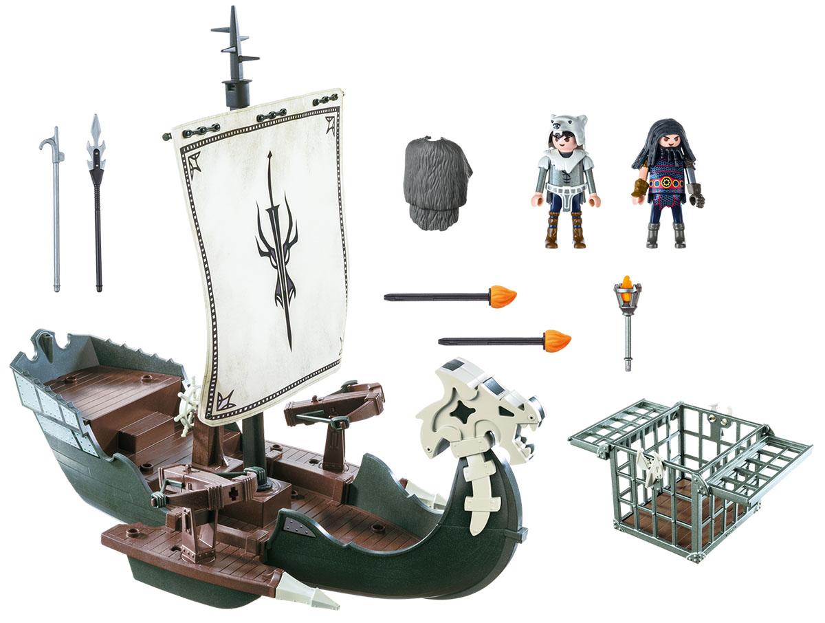 Playmobil Игровой набор Драконы Драконий корабль викингов playmobil спасатели с носилками