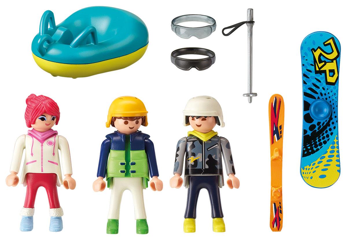 Playmobil Игровой набор Зимние виды спорта Зимние виды спорта - трио