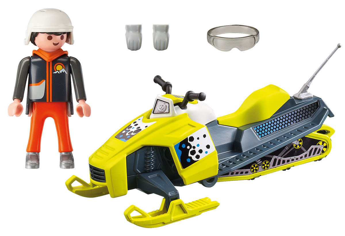 Playmobil Игровой набор Зимние виды спорта Сноумобиль playmobil игровой набор африка антилопы гну