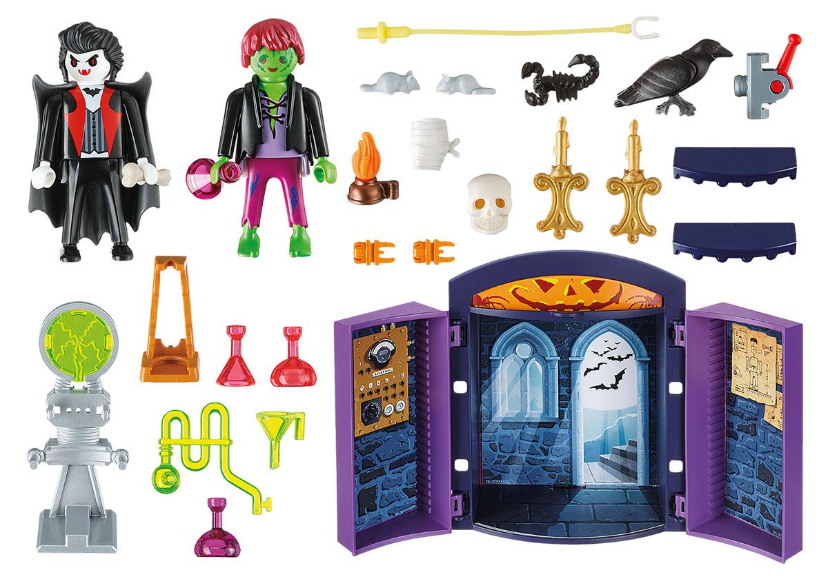Playmobil Игровой набор Игровой бокс Дом с приведениями playmobil игровой набор в поисках приключений лодка с браконьерами