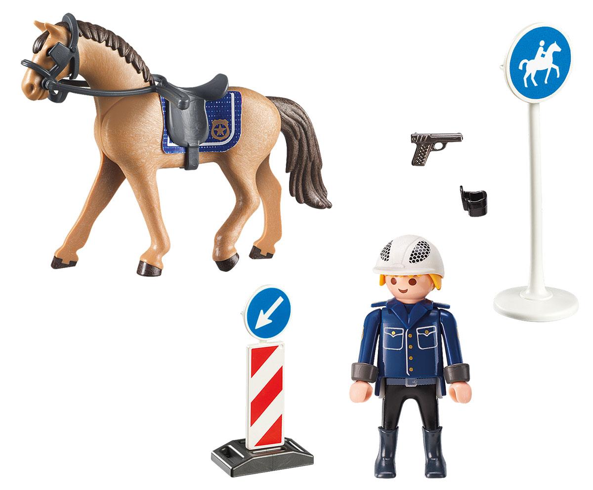Playmobil Игровой набор Конный спорт Горная полиция playmobil® в поисках приключений семья рысей с кинооператором playmobil