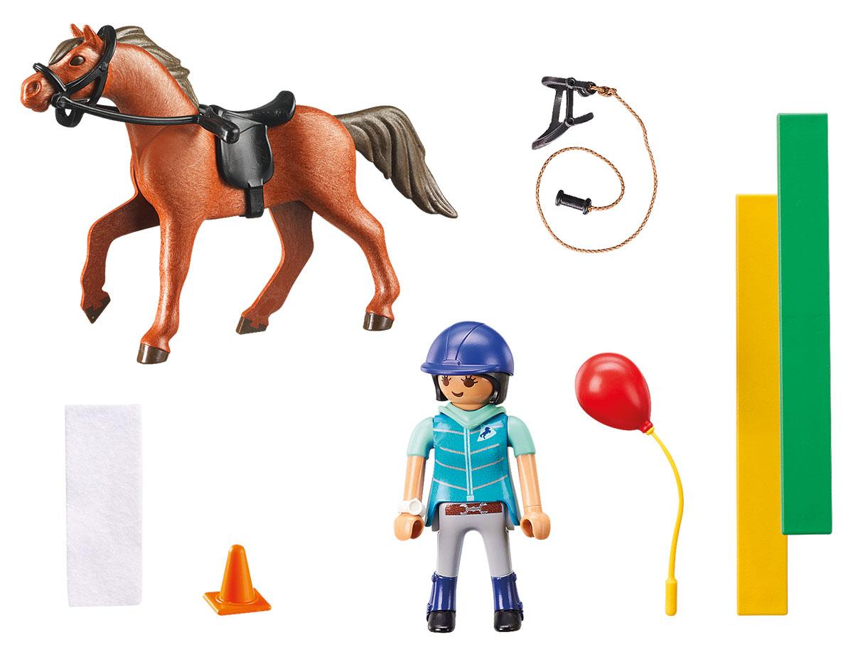 Playmobil Игровой набор Конный спорт Конный терапевт playmobil спасатели с носилками