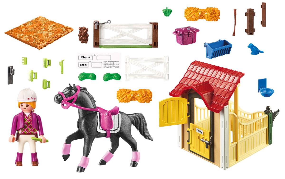 Playmobil Игровой набор Конюшня с арабскими скакунами игровой набор playmobil ферма пони пикник с коневозкой