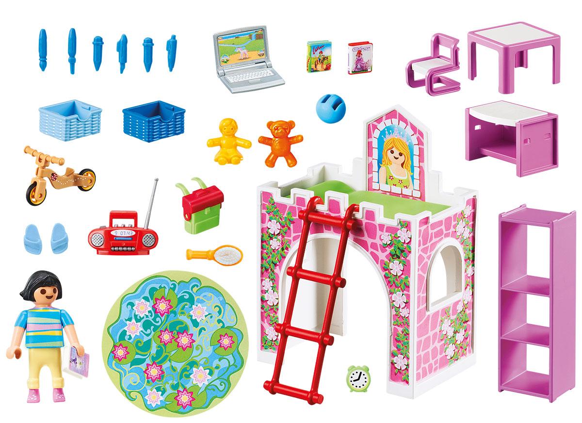 цены на Playmobil Игровой набор Кукольный дом Детская комната в интернет-магазинах