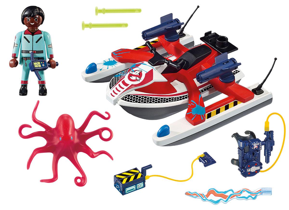 Playmobil Игровой набор Охотники за привидениями Зеддемор с гидроциклом playmobil игровой набор девочка с морскими свинками