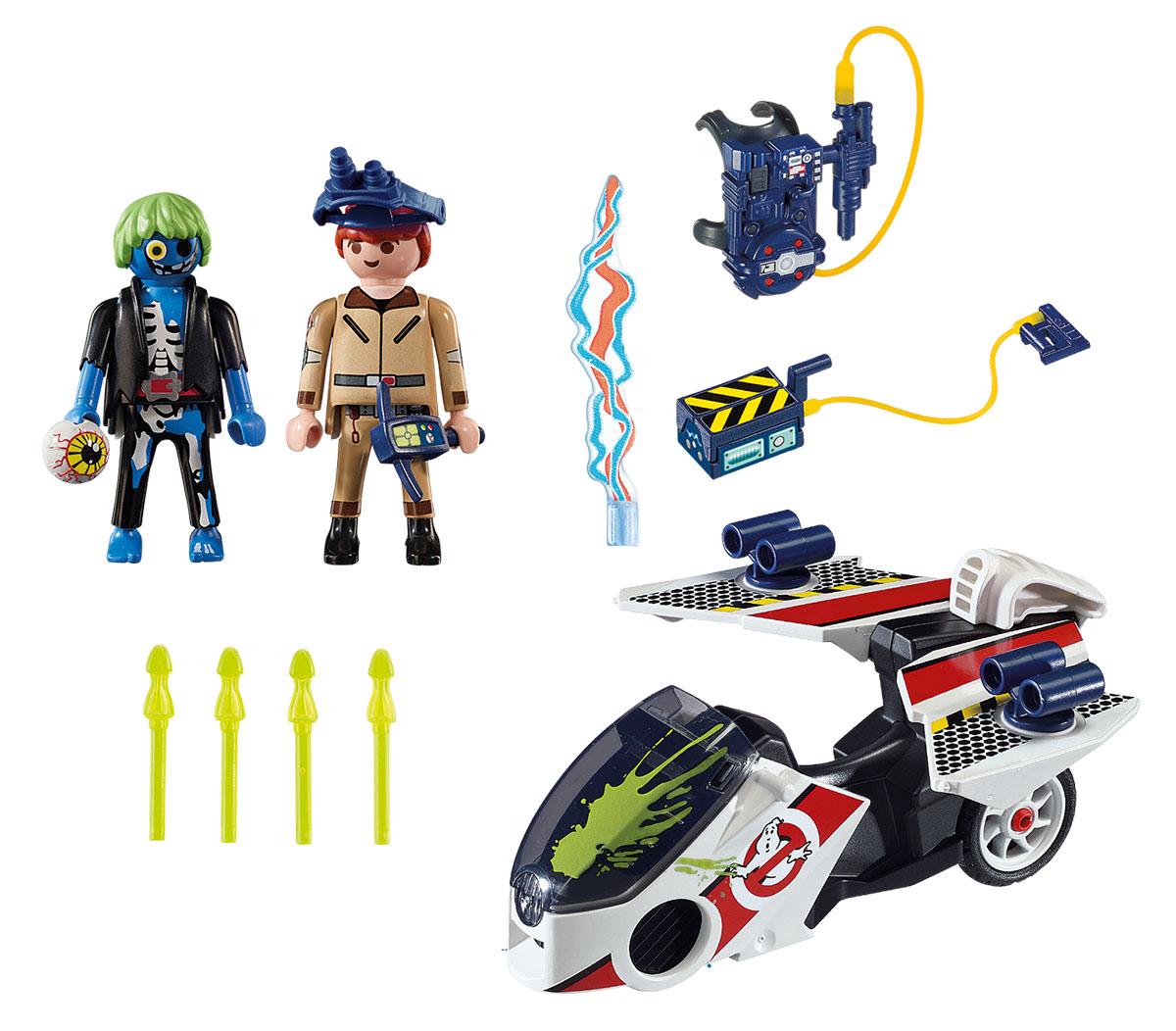 Playmobil Игровой набор Охотники за привидениями Стэнц с небесным велосипедом playmobil спасатели с носилками
