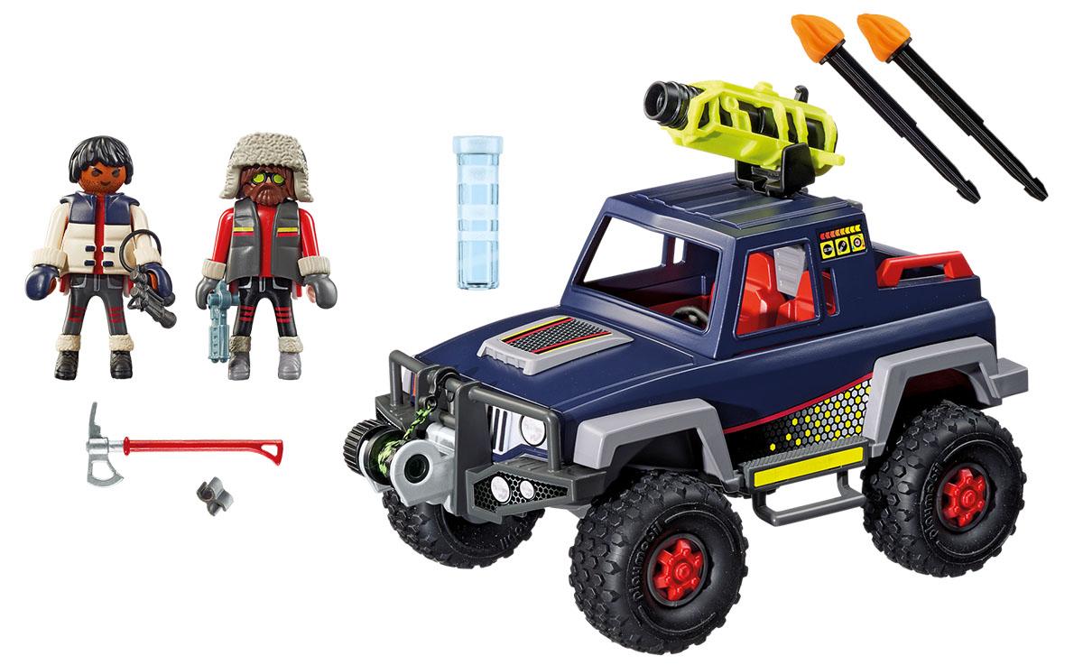 Playmobil Игровой набор Полярная экспедиция Ледяной пират со снежным грузовиком