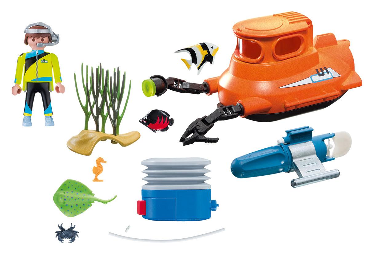 Playmobil Игровой набор Подводная лодка с подводным двигателем