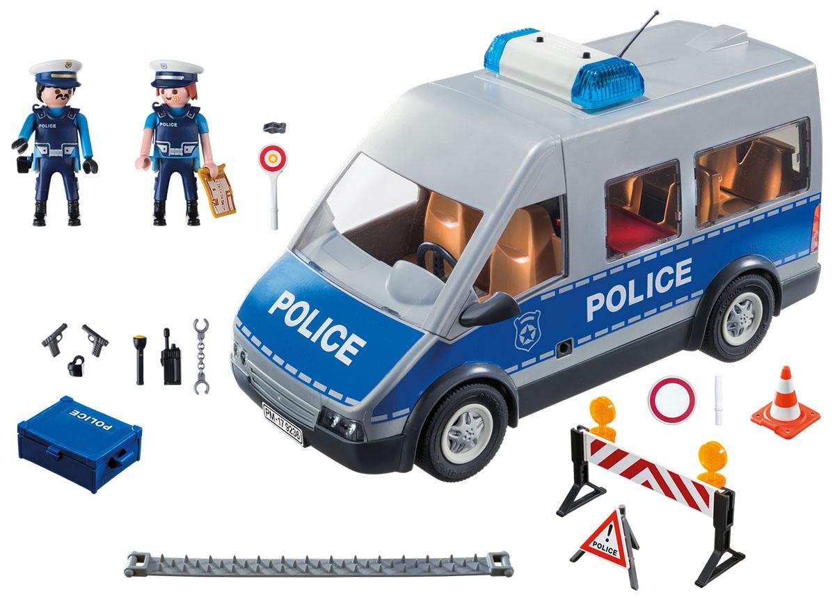 Playmobil Игровой набор Полицейский с машиной playmobil® playmobil® 4496 трактор с прицепом