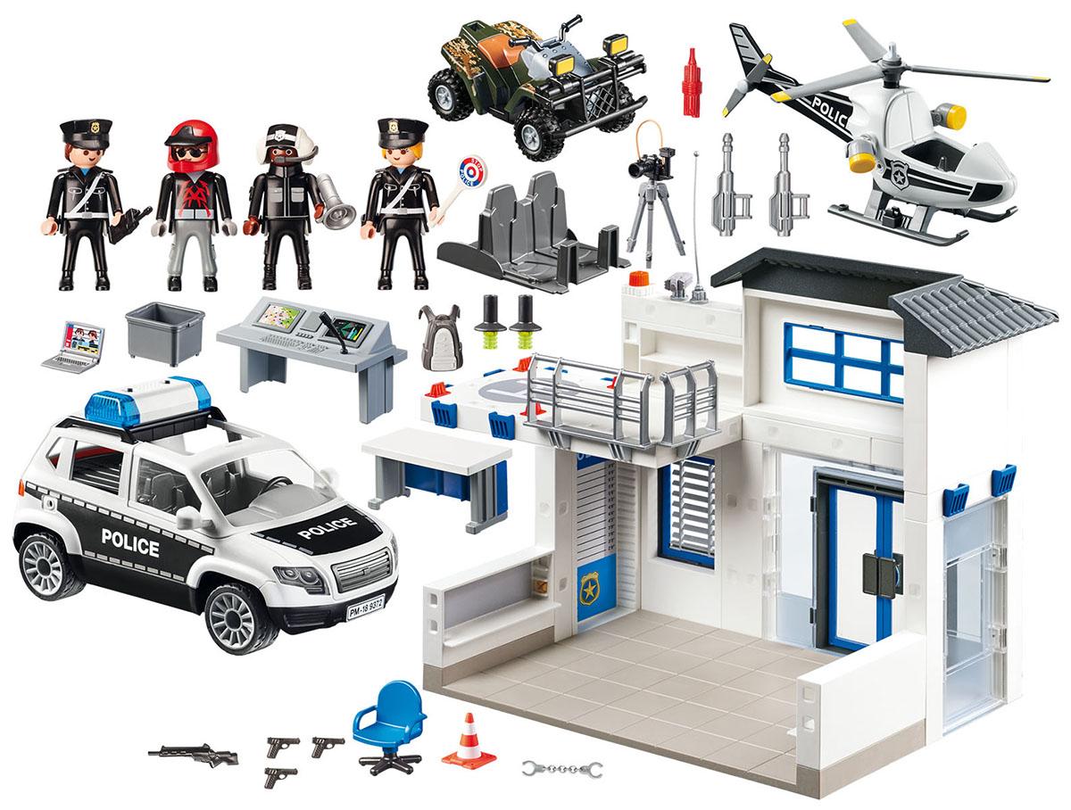 Playmobil Игровой набор лицейский участок