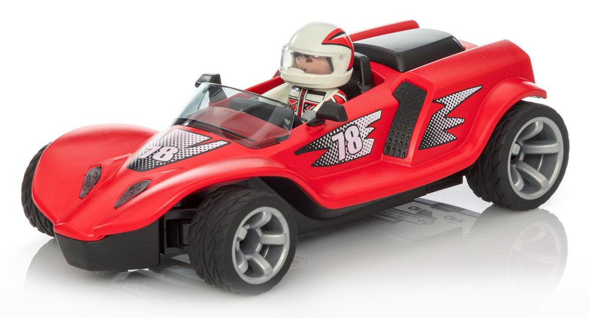 Playmobil Игровой набор Радиоуправляемый ракетный гонщик playmobil игровой набор пожарный квадроцикл