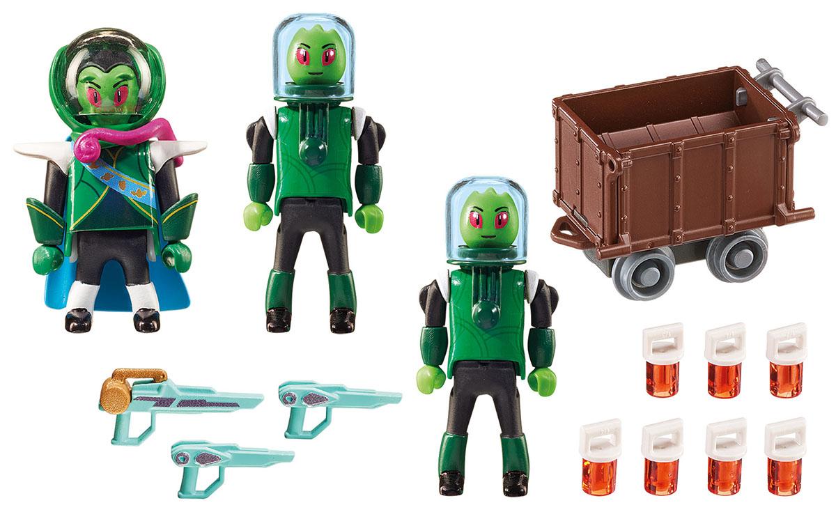 Playmobil Игровой набор Супер 4 Пришелец Сикрониан