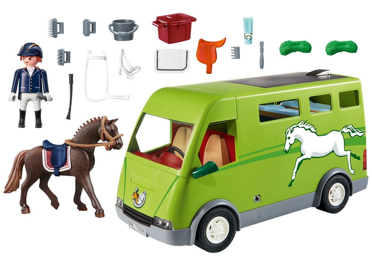 Playmobil Игровой набор Ферма Лошадиный бокс playmobil® ферма золотые ретриверы с щенками playmobil