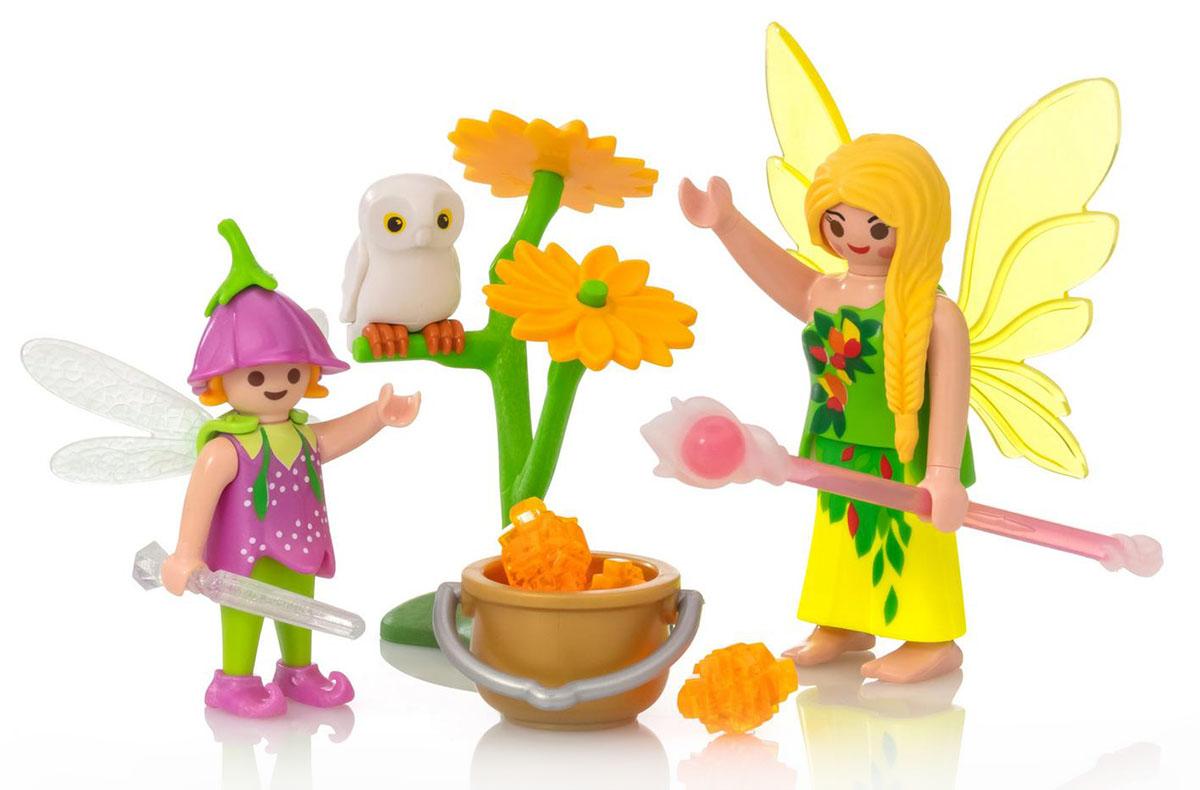 Playmobil Игровой набор Яйцо Феи с волшебным котлом playmobil игровой набор девочка с морскими свинками