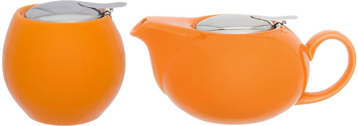 Набор посуды из фарфора - это украшение стола и отличный подарок. Красота и уют вашего дома! Дизайн чайника проработан учитывая все подробности. Все части аккуратно скомбинированы и хорошо дополняют друг друга.  Эта модель станет замечательной находкой для себя или презентом родным. Традиционная сахарница подойдет для сахара, для соли, для специй. Эксклюзивный дизайн и функциональность сахарницы сделают ее незаменимой на любой кухне.