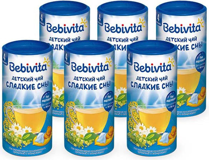 Фото Bebivita чай гранулированный детский Сладкие сны, с 4 месяцев, 6 шт по 200 г