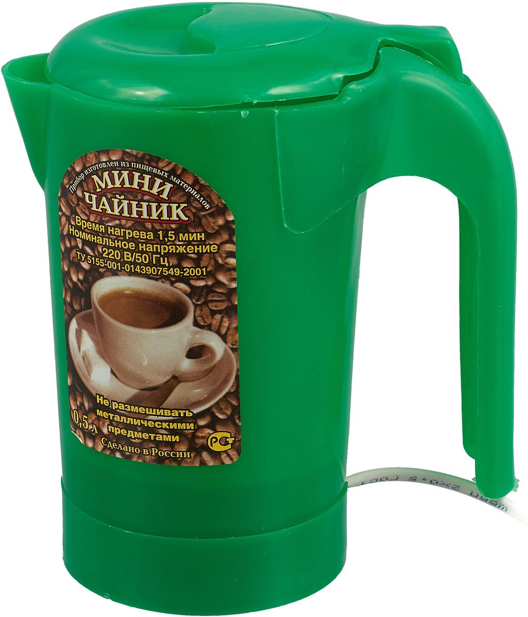 Zimber ZM-1235 электрический чайник, цвет: светло-зеленый