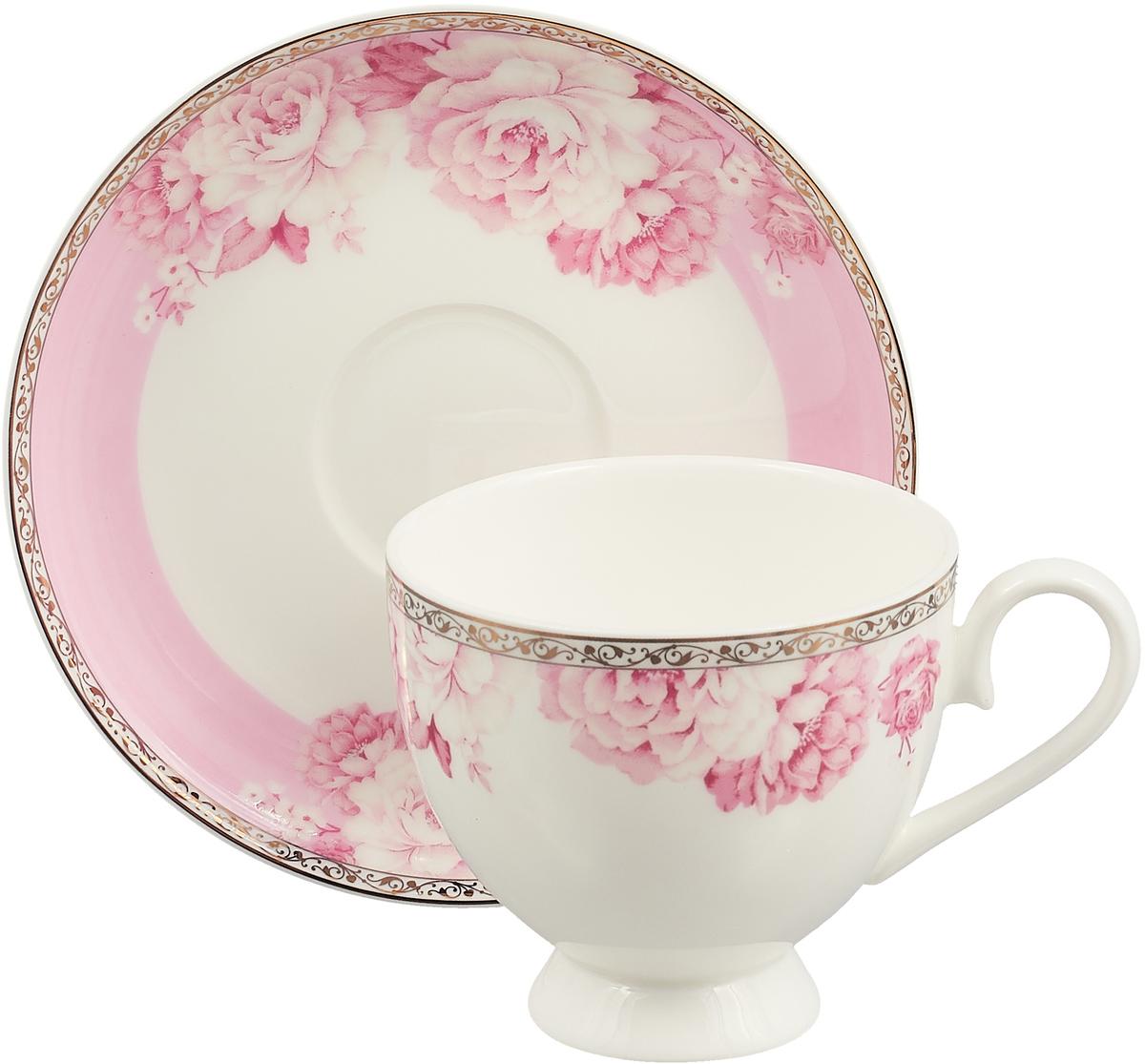 Чайная пара Royal Aurel Пион, 2 предмета чайная пара royal aurel гольф 2 предмета