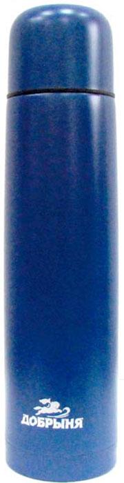 Термос Добрыня DO-1832 (0,75 л) практичен и удобен в использовании. Выполнен из прочных экологически чистых материалов, безопасен и долговечен. Незаменимый спутник для любителей активного образа жизни! Нержавеющая сталь, узкое горло, вакуумная теплоизоляция. Цвет- синий.