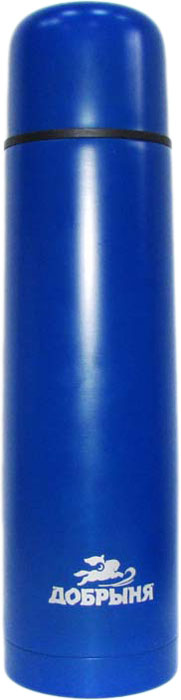 Термос Добрыня, цвет: синий, 1 л шайба diffusor sh40 6m