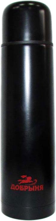 Термос Добрыня DO-1835 (1,0 л) практичен и удобен в использовании. Выполнен из прочных экологически чистых материалов, безопасен и долговечен. Незаменимый спутник для любителей активного образа жизни! Нержавеющая сталь, узкое горло, вакуумная теплоизоляция. Цвет- черный.