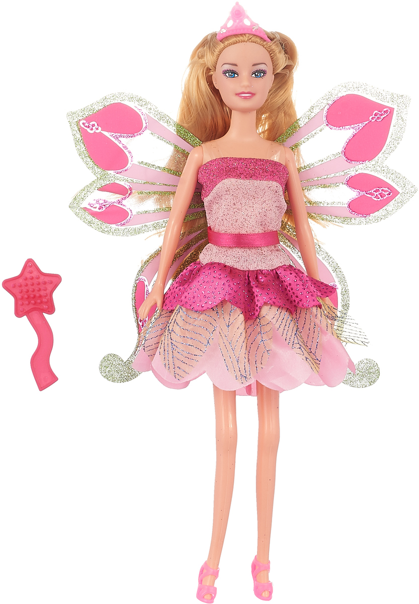 Карапуз Кукла София Фея с аксессуарами цвет розовый карапуз кукла озвученная disney принцесса софия с аксессуарами