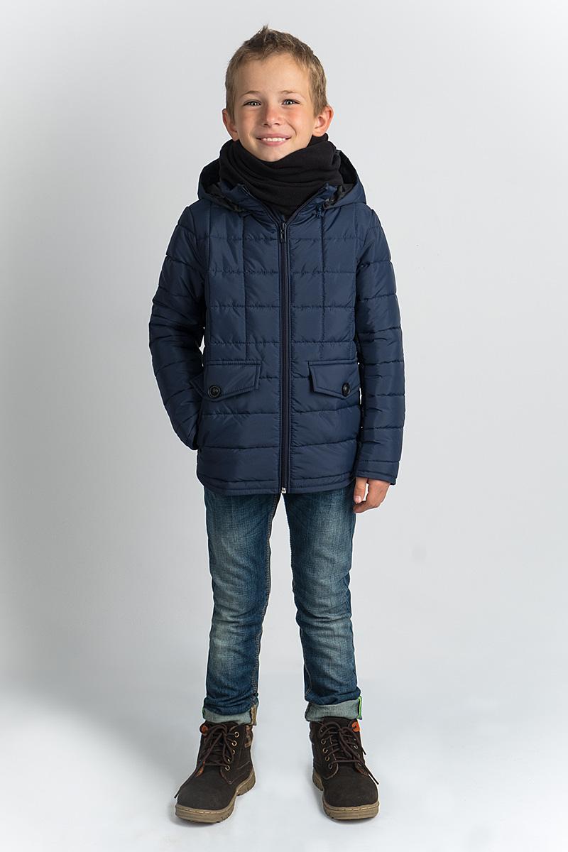 Куртка для мальчика Boom!, цвет: темно-синий. 80369_BOB. Размер 152