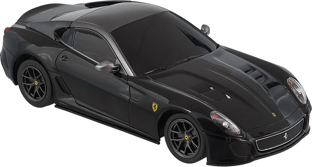 Rastar Радиоуправляемая модель Ferrari 599 GTO масштаб 1:24, цвет черный кочетова ю ширшова е алгебра конечномерные пространства линейные операторы курс лекций