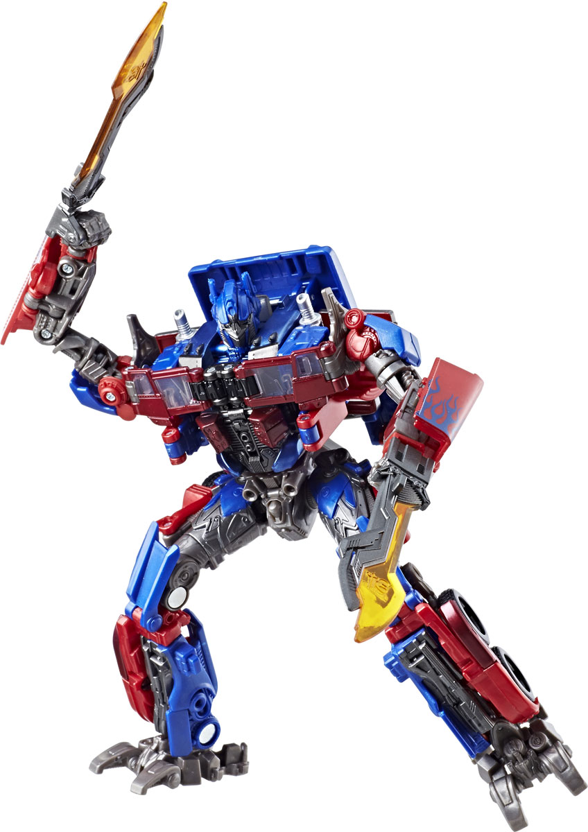 Transformers Игрушка трансформер Коллекционный 26 см Optimus Prime 2018 news mu 3d metal puzzle tf optimus prime g1 megatron model ym l055 c diy 3d laser cut assemble jigsaw toys for audit