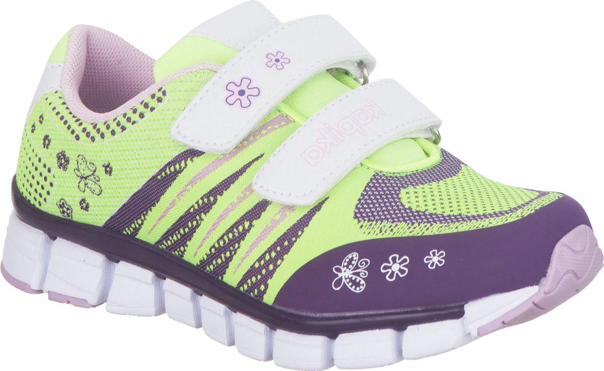 Кроссовки для девочки Kapika, цвет: светло-зеленый. 73303-2. Размер 31 кроссовки для девочки zenden цвет розовый 219 33gg 002tt размер 31 page 7