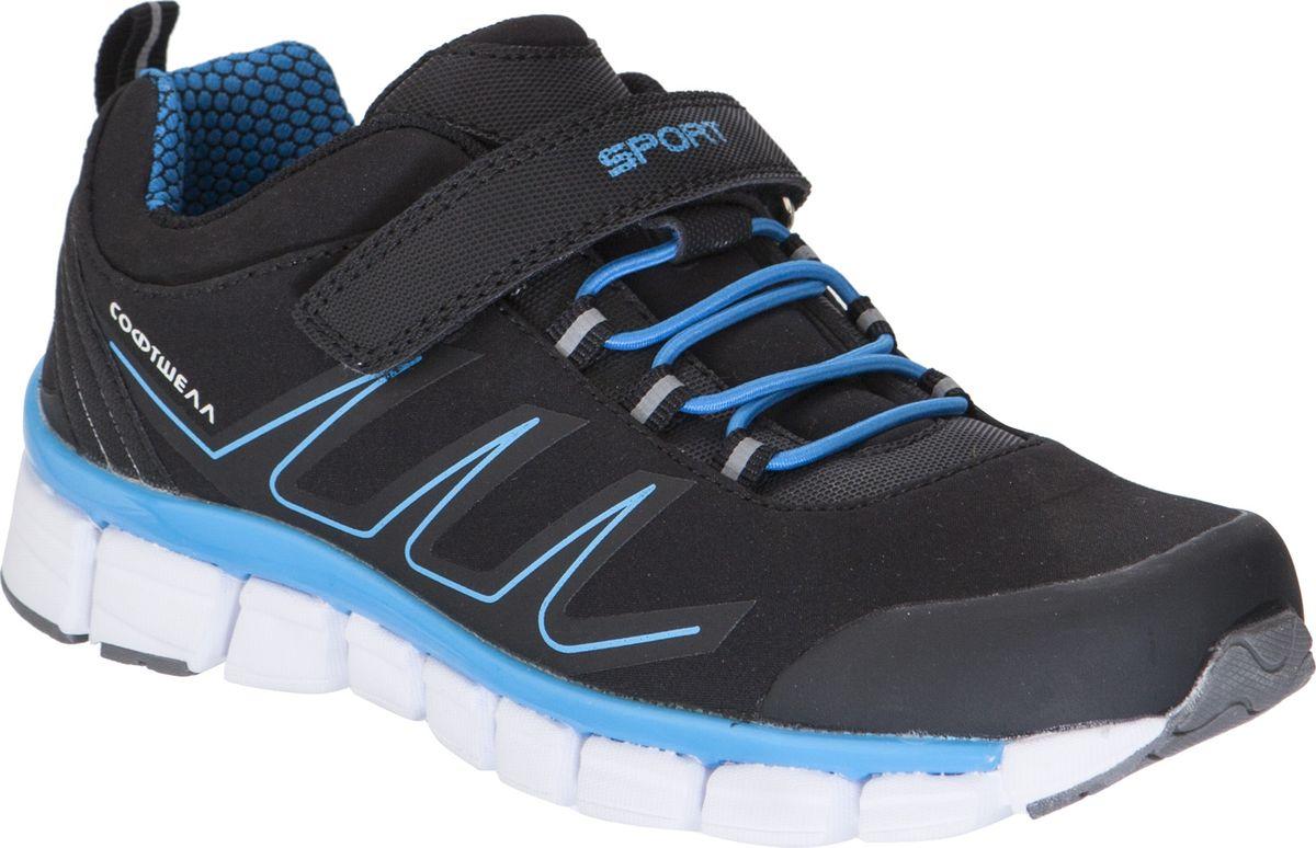 Кроссовки для мальчика Kapika, цвет: черный. 73339c-1. Размер 34 кроссовки для мальчика zenden цвет красный 219 33bg 043tt размер 33