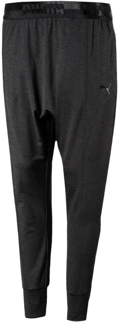 Брюки спортивные женские Puma Soft Sport Drapey Pants, цвет: антрацитовый. 85205401. Размер M (44/46)