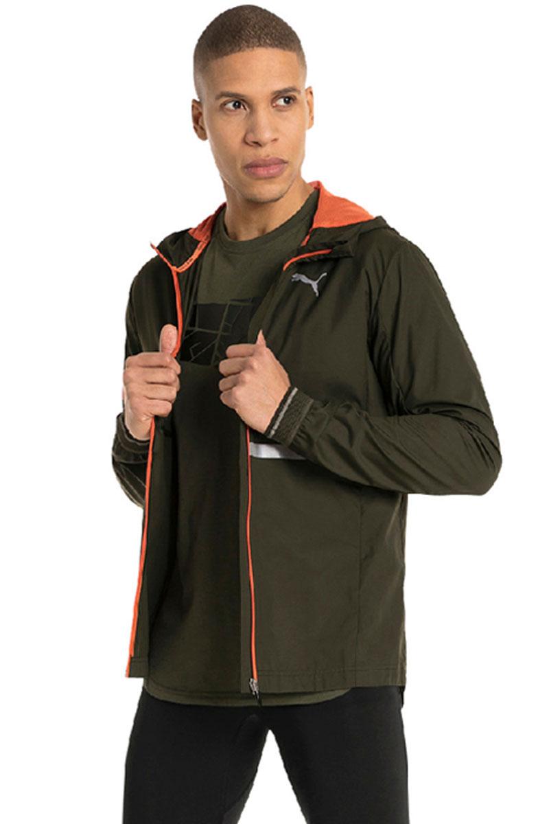 Ветровка мужская Puma LastLap Jacket, цвет: темно-оливковый. 51701304. Размер XXL (52/54) стоимость