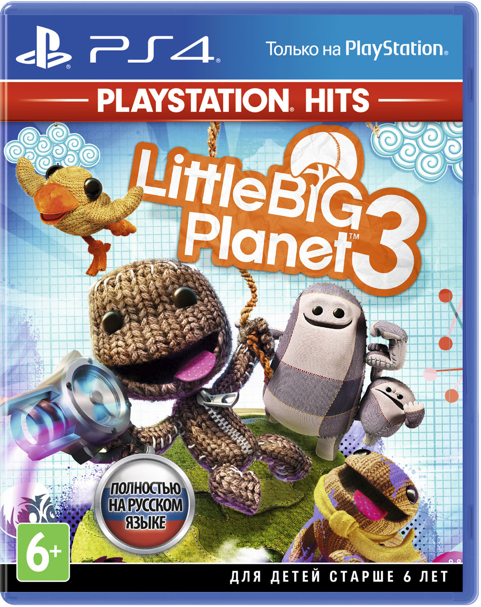 LittleBigPlanet 3  (Хиты PlayStation) (PS4), XDev Studio Europe