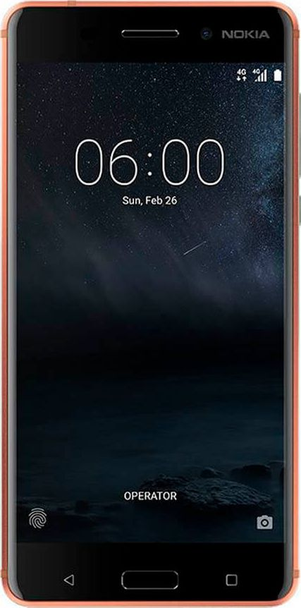 Смартфон Nokia 6 DS, Copper