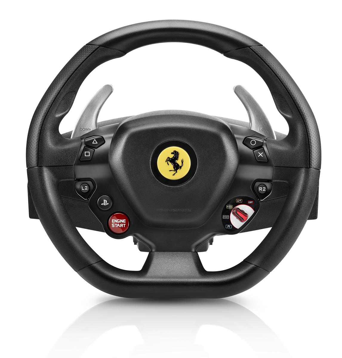 izmeritelplus.ru Thrustmaster T80 Ferrari 488 GTB Edition руль для PS4/PC