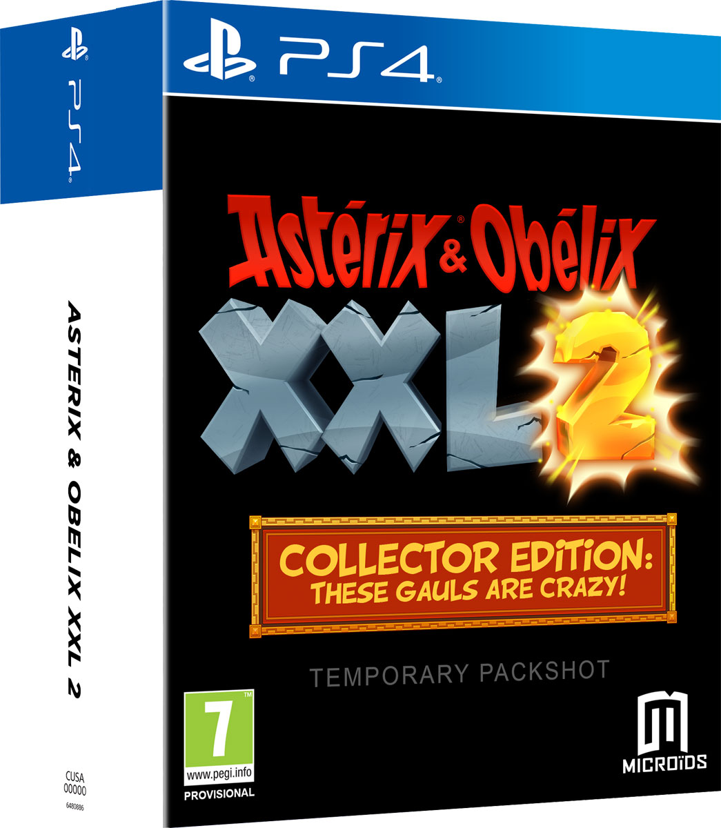 Asterix and Obelix XXL2 Collector edition (PS4), 1С-СофтКлаб
