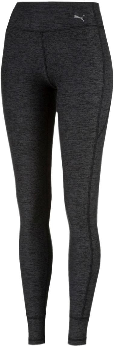 Тайтсы женские Puma Soft Touch Tight, цвет: темно-серый. 51714801. Размер S (42/44)