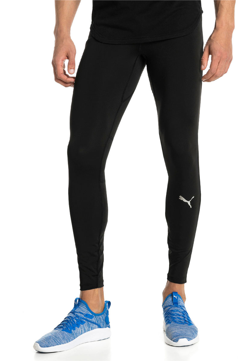 Тайтсы мужские Puma Ignite Long Tight, цвет: черный. 51700501. Размер XL (50/52) wolfbike bc215 0xl men s sports tight long sleeved quick drying shirt black size xl