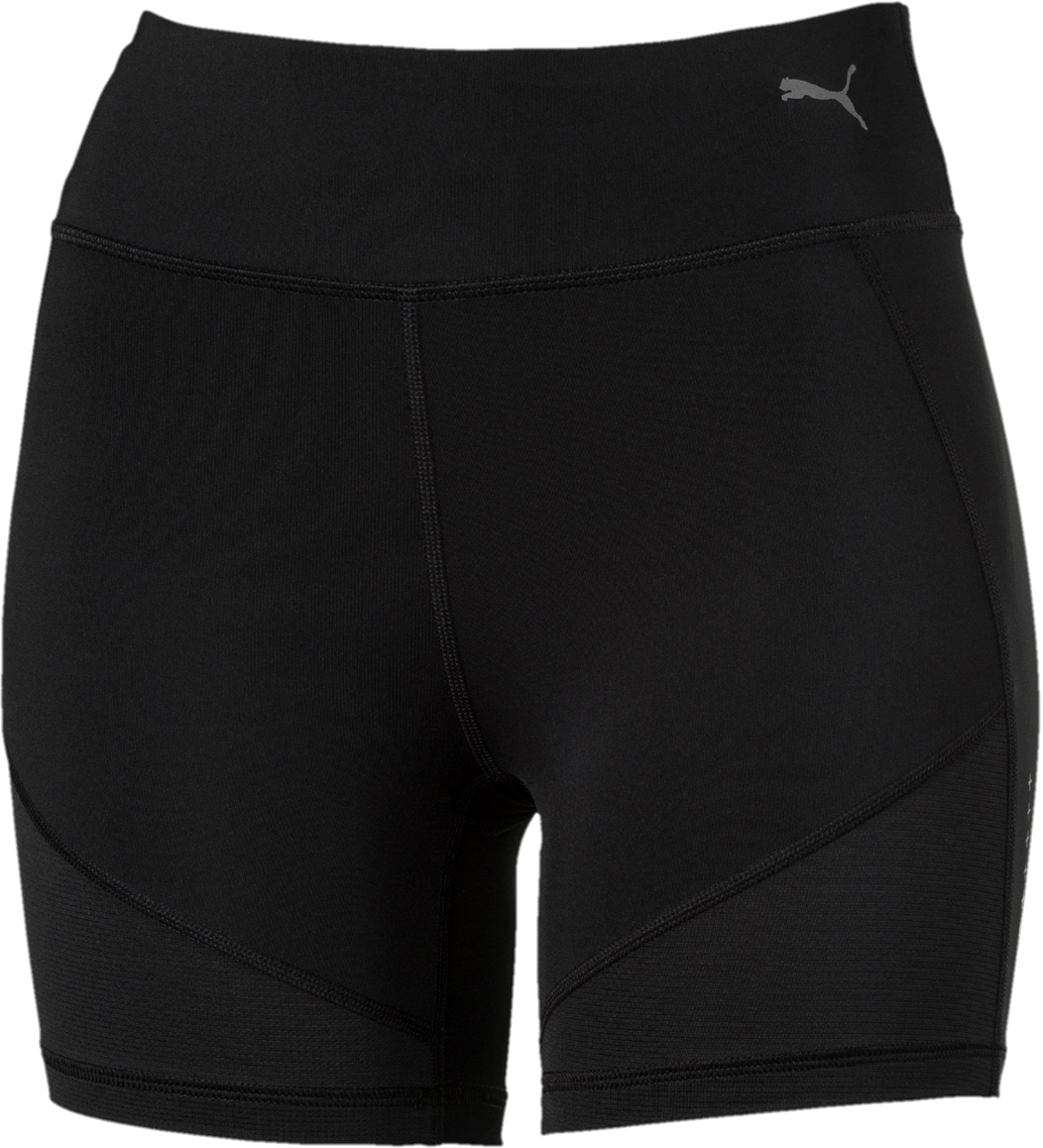 Шорты женские Puma Ignite Short Tight W, цвет: черный. 51668403. Размер XL (48/50)