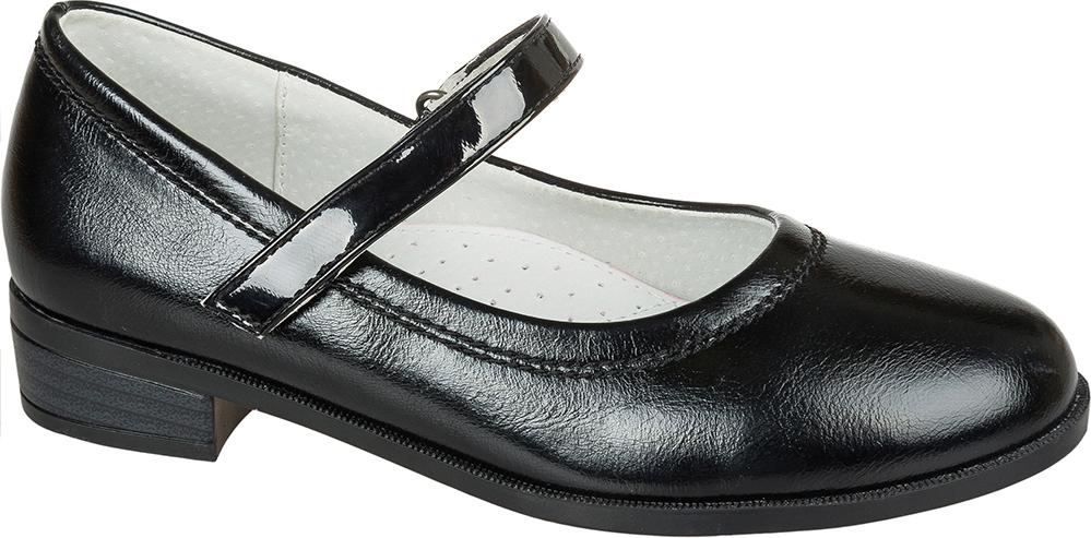 Туфли для девочки Mursu, цвет: черный. 205054. Размер 35