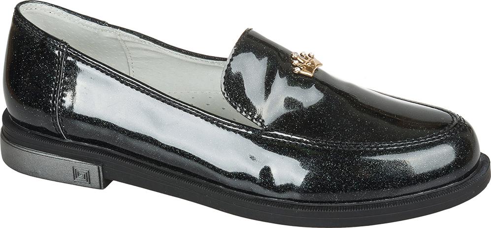 Туфли для девочки Mursu, цвет: черный. 205071. Размер 33
