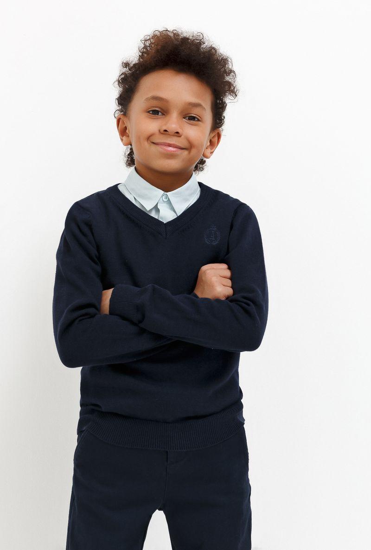 Джемпер для мальчика Acoola Buick, цвет: темно-голубой. 20140310007_600. Размер 152