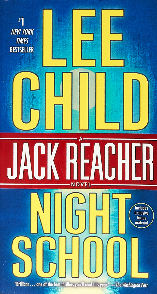 Night School: A Jack Reacher Novel the fox went out on a chilly night