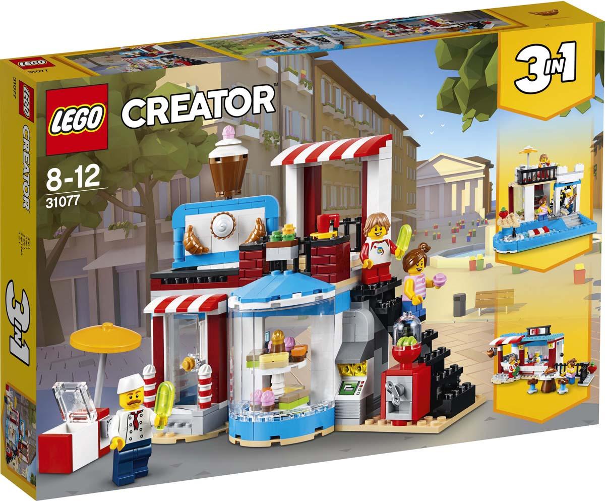 LEGO Creator Конструктор Приятные сюрпризы 31077 мойка кухонная granfest гранит d450 gf r450 терракот